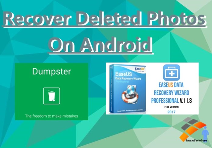 Recover Deleted Photos On Android