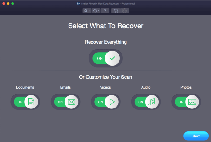 Recover Deleted Files mac with Stellar Phoenix Mac Data Recovery