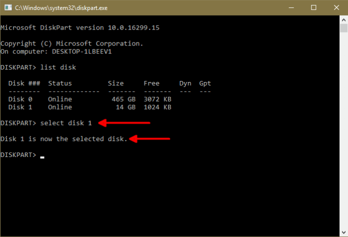 How to make a Bootable USB PenDrive using CMD