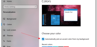 How to Change Start Menu and Taskbar Color in Windows 10
