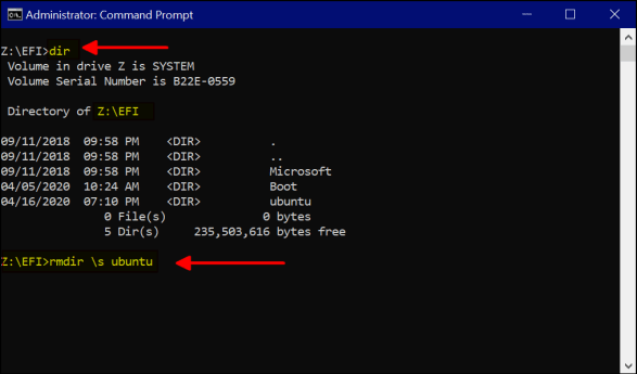 Uninstall Grub Bootloader from windows 10