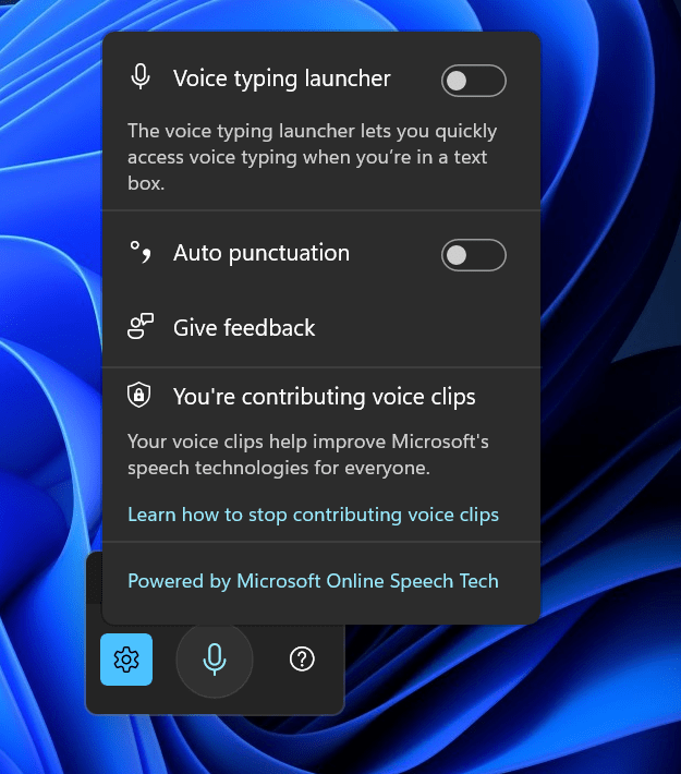 How to use Voice Typing in Windows 11