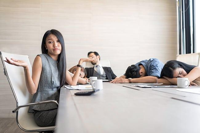 Inefficient Meetings