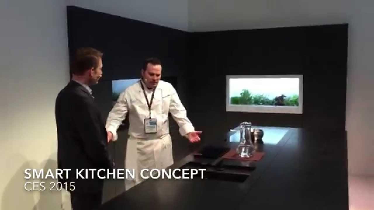 Panasonic's Connected Home - Smart Kitchen demo | CES 2015