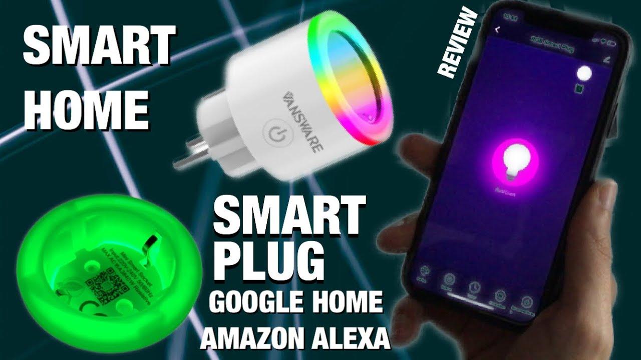 Smart Home Steckdosen mit Nachtlicht, AMAZON Alexa, Google Home, IFTT...