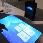 Hachi Infinite at CES 2020 Smart Table DLP Projector, smart delivery ...