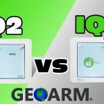 Qolsys IQ Panel 2 vs IQ Panel 2 Plus Compare Features