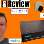 REOLINK 5MP POE DOME IP SECURITY CAMERA REVIEW - Easy Install using P...