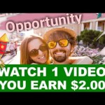 Earn $2.00+ Every Video YOU Watch! (FREE) NEW PROOF! Make Money Watch...