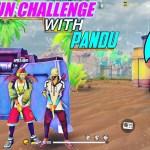 HAND GUN CHALLENGE WITH PANDU|| APPEL DINO || AV DINO || Challenge #4...
