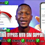 WINDOWS ICLOUD BYPASS WITH SIM SUPPORT IPHONE 6S TO IPHONE X IOS 13.7