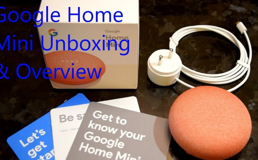 SMART SPEAKER: The Google Home Mini Unboxing and Overview  #SMART #SPEAKER #Google #Home #Mini #Unboxing #Overview