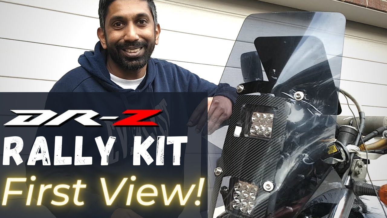 DRZ Rally Kit Design and Build! | Part 5 |  On Two Wheels
