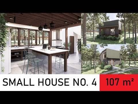 107 SQUARE METER SMALL HOUSE DESIGN