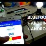 Smarthome menggunakan Arduino dan Bluetooth HC05