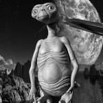 UFO reflects the threat.Chebarkul meteorite