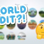 WORLD EDIT IS COMING TO THE SIMS 4! 💚🌎