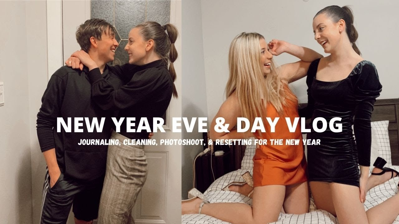 new year day vlog: reset, cleaning, journaling