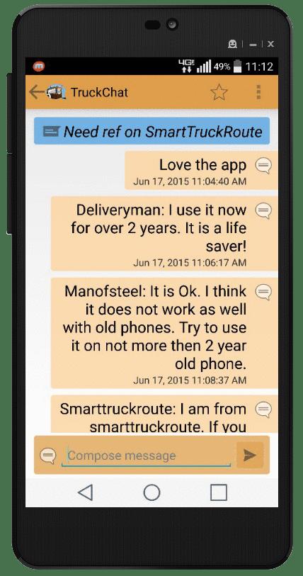 truck chat chat program