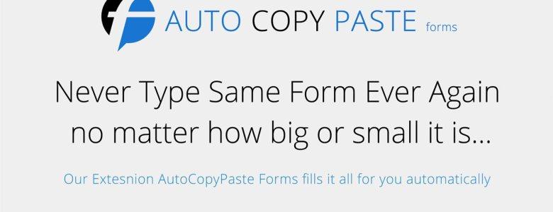 Auto Copy Paste Chrome Extension