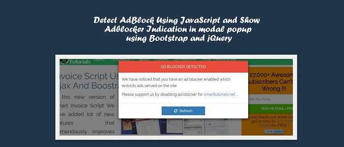 How to Detect Ads Blocker On Your Website, Detect AdBlock with JavaScript, Ultimate Guide To Detecting AdBlock, detect if adblock is running, adblock block javascript
