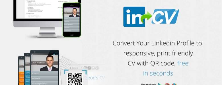 Convert_linkedin_profile_to_beautiful_resume_online_free_single_click