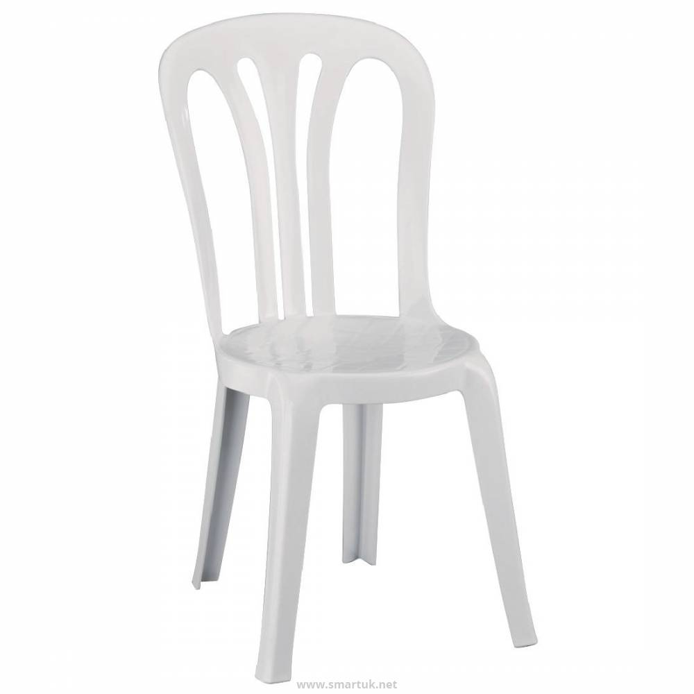 White Stackable Chairs Resol Multi Purpose Stacking Chairs White Pack Of 6