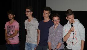 Schüler des Gymnasium Ort der Kreuzschwestern Gmunden