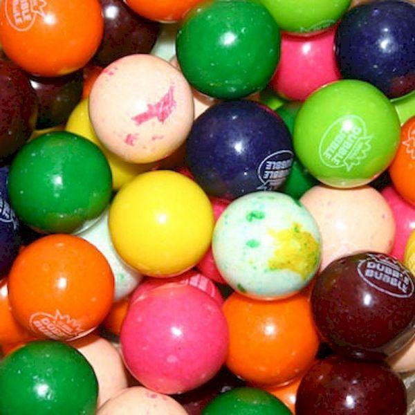 94008 - Dubble Bubble Assorted 10 Colors Gumballs 850