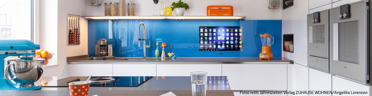 Fernseher Küche Höhe
