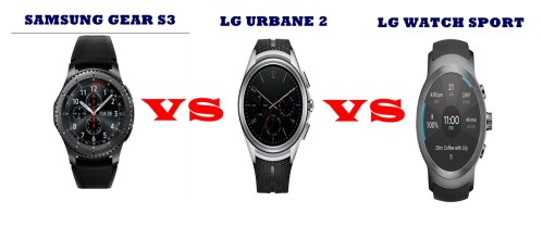 lg urbane 2 vs watch sport vs samsung gear s3 compared