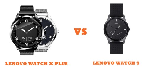 Lenovo Watch X Plus Vs Watch 9 Compared Smartwatch Series