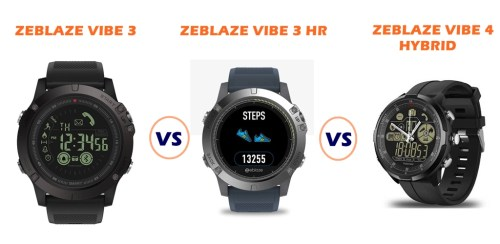 24bf87edfc4 Zeblaze Vibe 3 vs Vibe 3 HR vs Vibe 4 Hybrid – Which is Better?