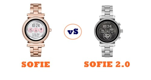 Michael Kors Access Sofie Vs Sofie 2 0 Compared Smartwatch Series