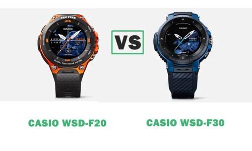 casio wsd-f20 vs wsd-f30 compared