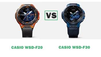 Casio WSD-F30 vs Garmin Fenix 5X Plus vs Samsung Galaxy Watch Compared
