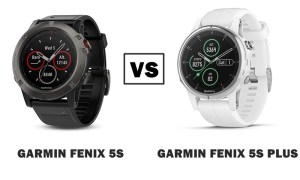 garmin fenix 5s vs 5s plus compared