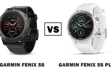 garmin fenix 5s vs 5s plus compared