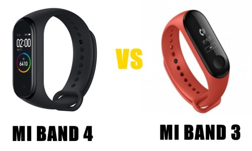 m band 4 vs 3 specs and features compared