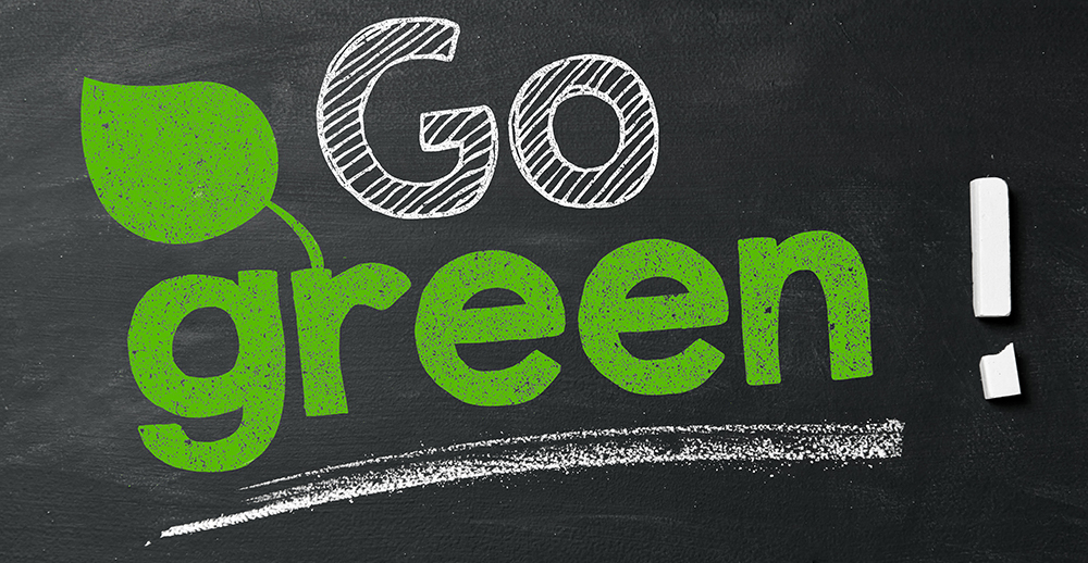Go green! retail sustainability initiatives