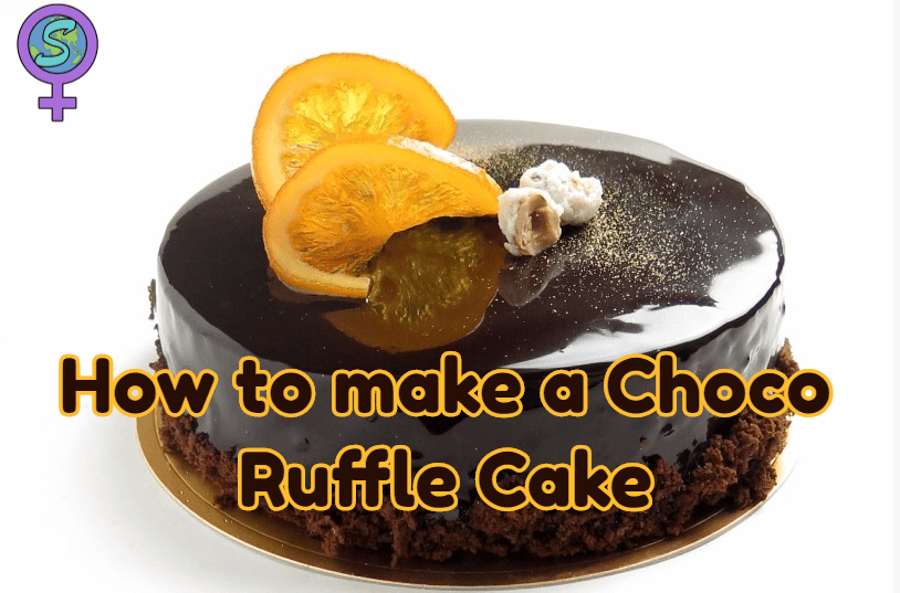 How To Make A Choco Ruffle Cake