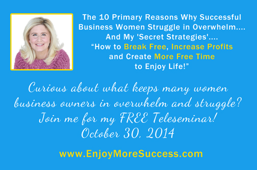 Free Teleseminar for Women Entrepreneurs