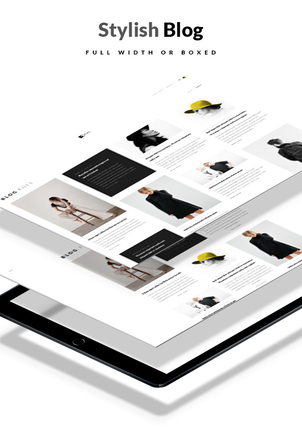 Artemis WooCommerce WordPress Theme Page Templates