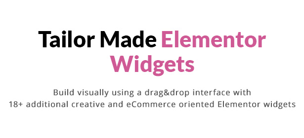 Artemis WooCommerce WordPress Theme - Elementor Widgets