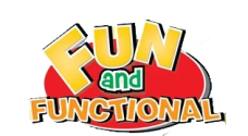 fun & functional logo