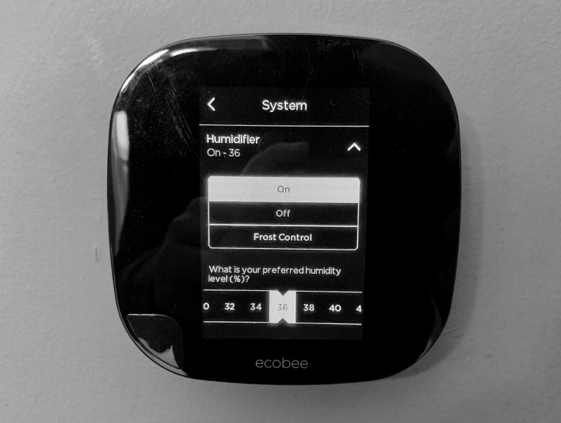 Automating A Whole House Humidifier With Ecobee