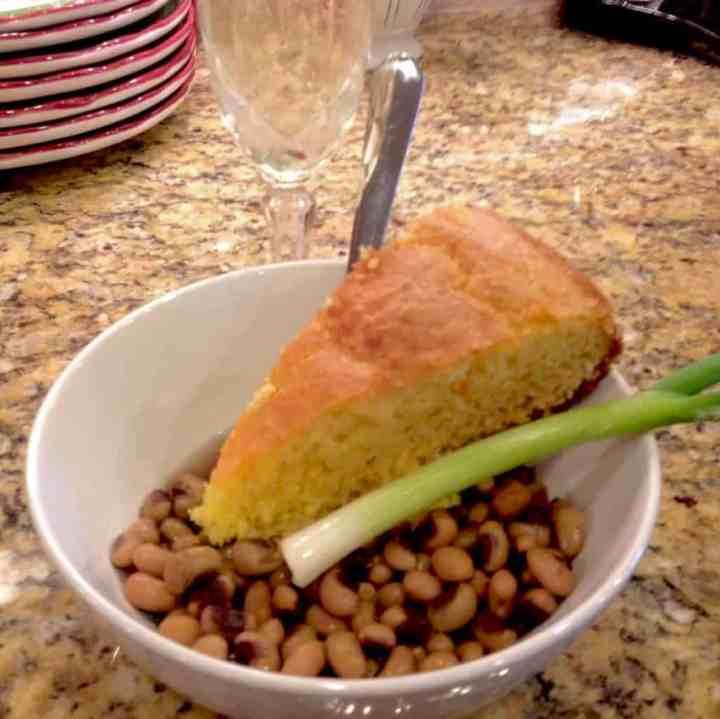 New Year's Peas