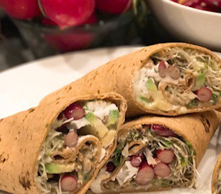 raw food wrap