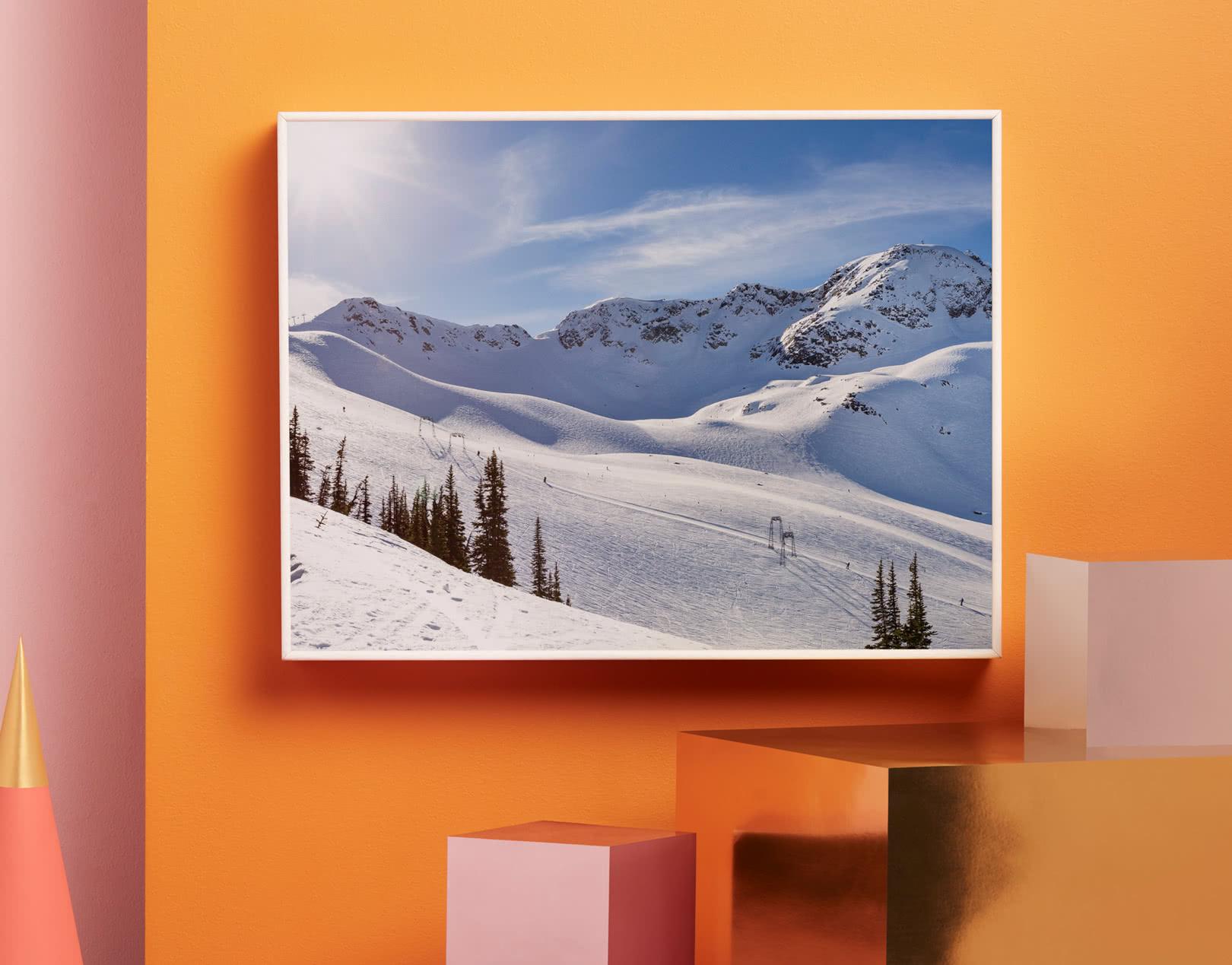Inramad Aluminiumtavla   Unika fotoframkallningar   Photobox