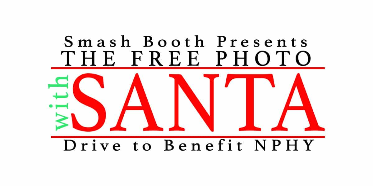 Smash Booth presents, the Santa  Free Photo Fundraiser